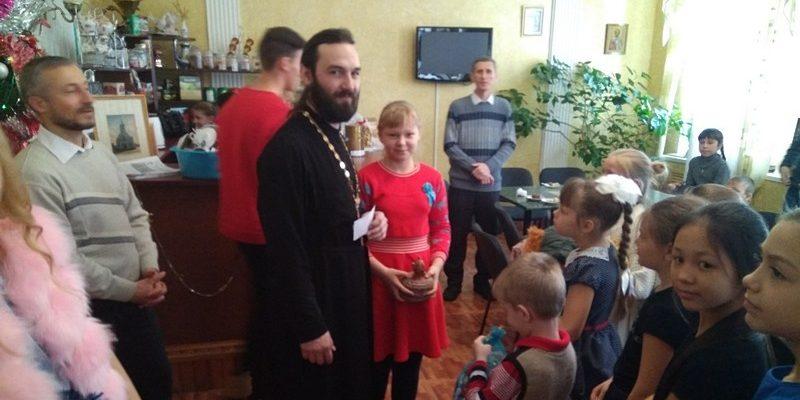 В ДПЦ «Ковчег» прошёл утренник для воспитанников воскресной группы и их родителей