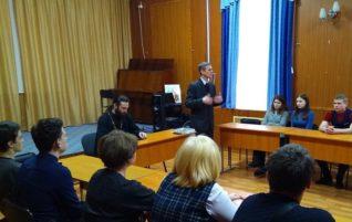В «Ковчеге» прошло первое заседание молодёжного дискуссионного клуба